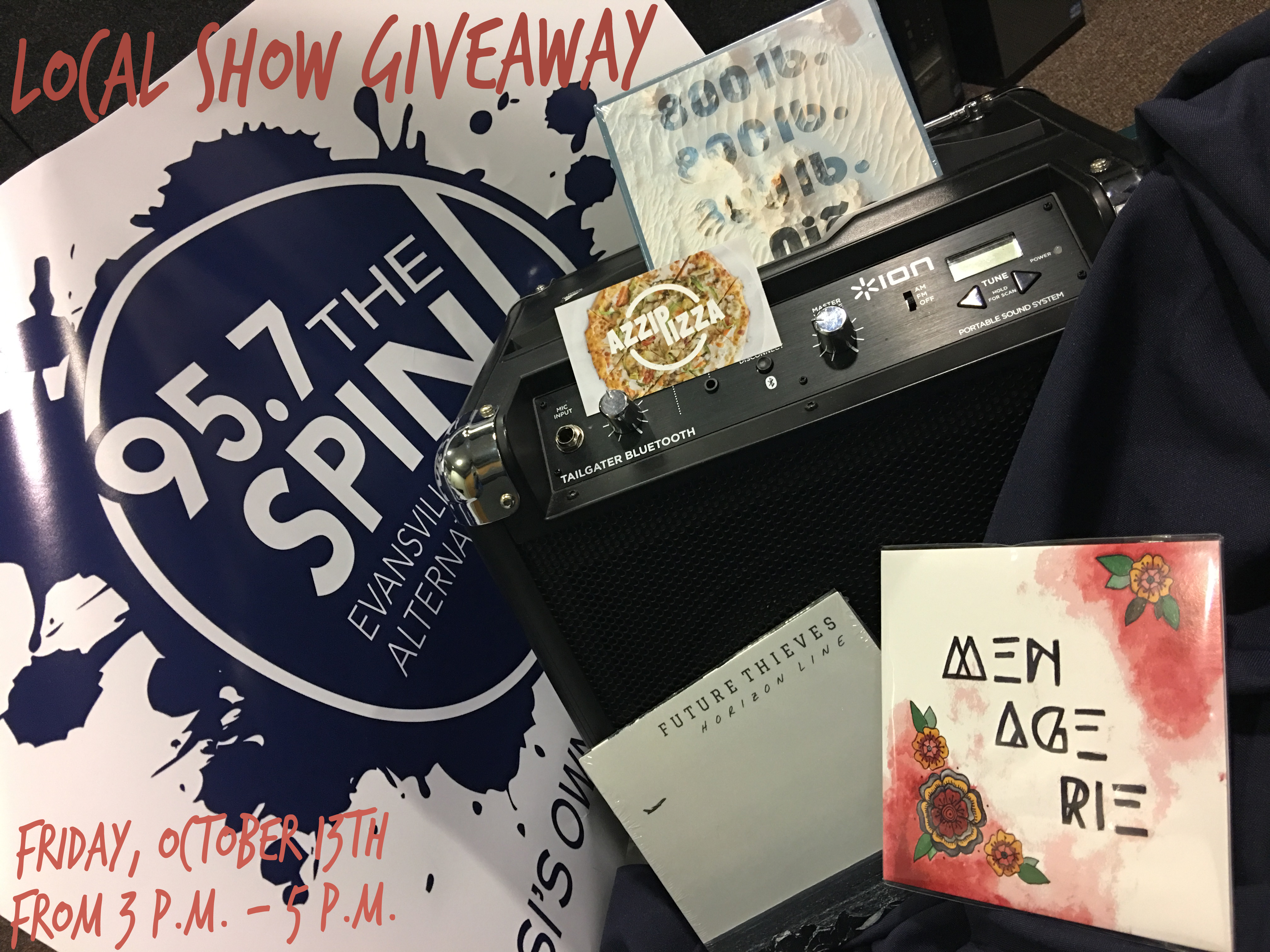 local show giveaway 10.13