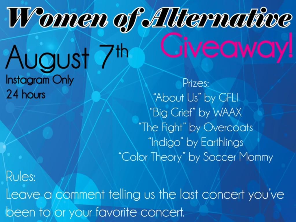 Women of Alternate Giveaway