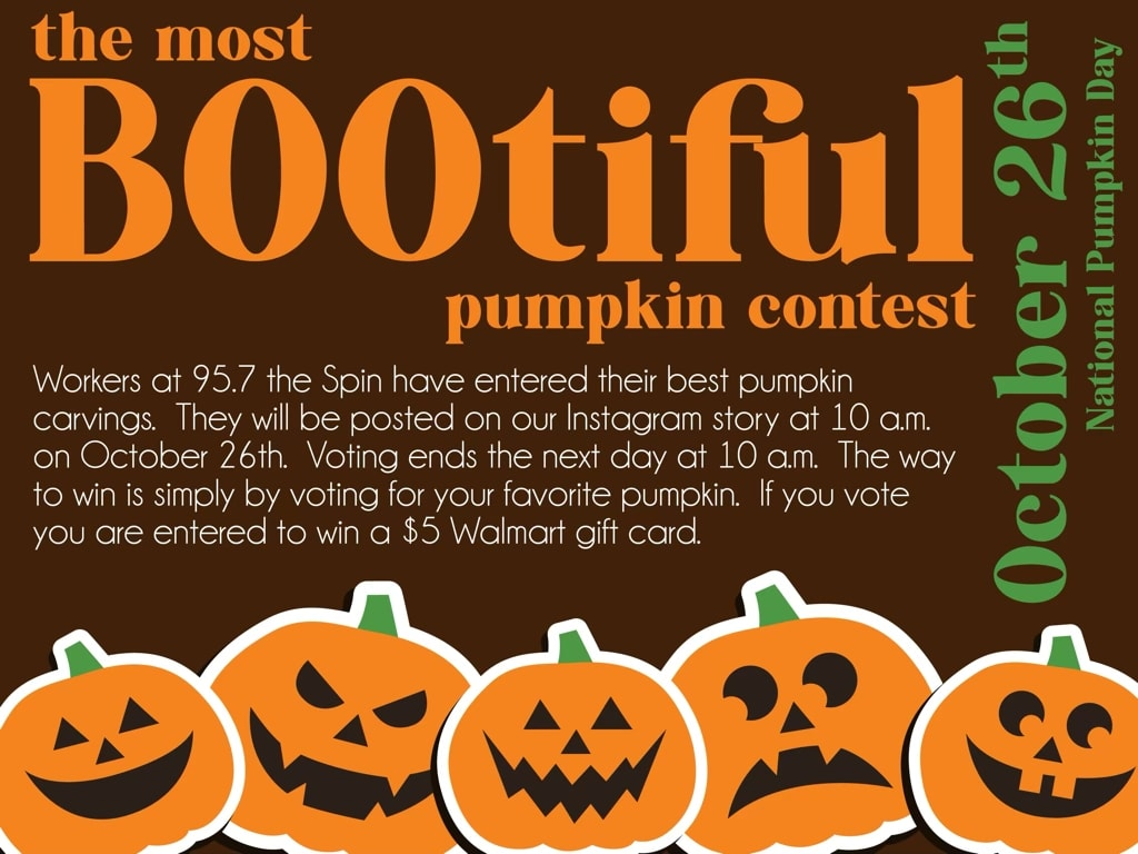 Bootiful Pumpkin Giveaway